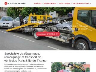 Dépannage auto Paris - Remorquage voiture 7j/24h Île de France