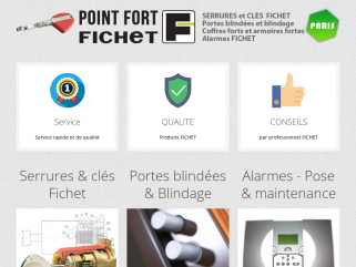 Point Fort Fichet AM Serrurerie Paris 75010