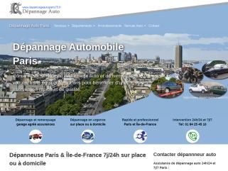 Dépannage Auto Paris: Remorquage, dépanneuse 7j/24h