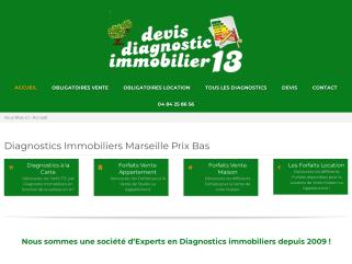 Prix Diagnostics immobiliers Marseille PROVENCE 13 PACA