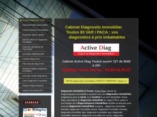 Diagnostic immobilier Toulon