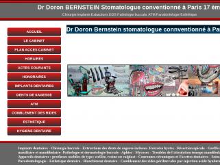 Dr Doron BERNSTEIN stomatologue conventionné Paris