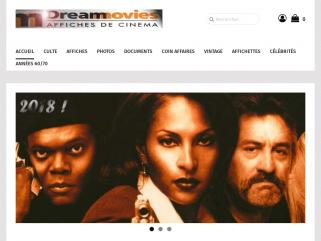 Dreammovies.net : affiches originales de cinéma, Affiches de films, photos de films, fiches publicitaires.
