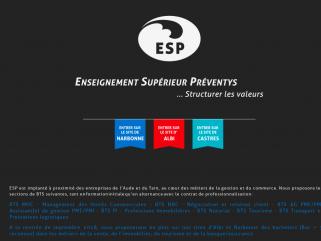 :: ESP :: Enseignement Supérieur Preventys