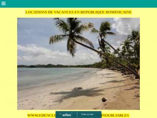 Edenclub:Locations de vacances à Sosua, République Dominicaine.