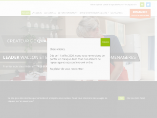 EkoServices, votre service d'aide-ménagère sous législation titre-service en Wallonie et sur Bruxelles