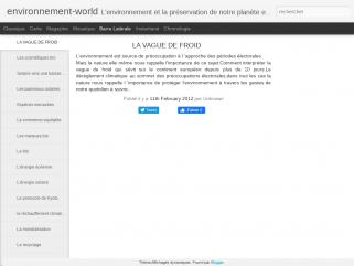 Environnement-world