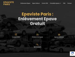 Epaviste Paris - Enlèvement épave gratuit