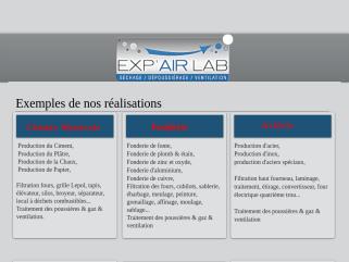 Exp'air Lab, un groupe mondial au service des industries. Dépoussiérage industriel, Séchage industriel, Ventilation industrielle, Thermographie industrielle.