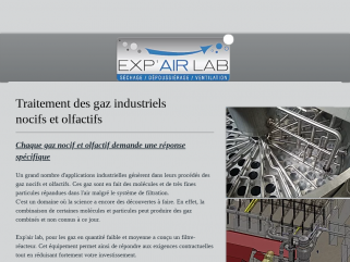Exp'air Lab Traitement des gaz industriels. Leader dans le traitement des gaz industriels.