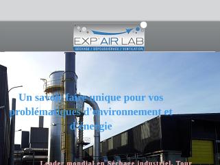 Exp'air Lab votre Solution. Dépoussiérage Industriel, Séchage industriel, Ventilation industrielle, Thermographie industrielle, Ingénierie industrielle, Maintenance industrielle .