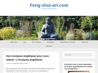 Blog sur l'art, le feng-shui et le bien-être.