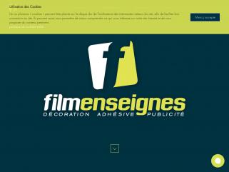 Enseigne lumineuse périgueux, signalétique, décoration de véhicule|Filmenseignes