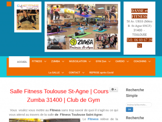 Salle Fitness Toulouse | Cours de Zumba | Club de Gym Toulouse
