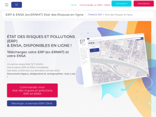 FRANCE ERP - Obtenir un ERP & ENSA (ERNMT) en ligne