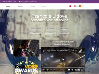 François Lidove, comédien voix-off pour tous vos enregistrements à distance.