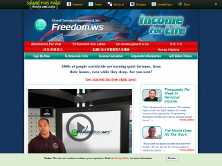 Freedom.ws - Income for Life