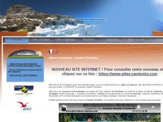 Le gite le patou propose des gites en location de vacances a cauterets dans les hautes pyrenees 65