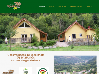 Gîtes du Kapellmatt Urbès (68) Alsace -Vosges