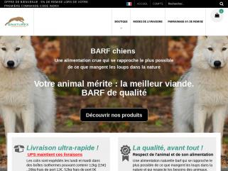 Barf pour chienset chats , Boutique en ligne