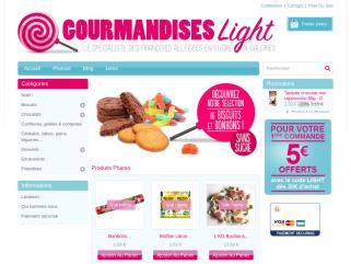 Gourmandises-Light : pour se faire plaisir avec des produits sans sucre.  Bonbons sans sucre, Sucettes sans sucre, Biscuits sans sucre, Confiture sans sucre.