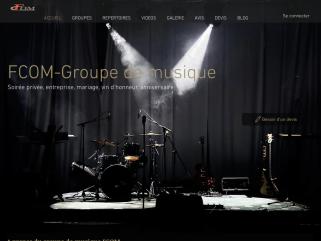 FCOM-orchestre de variété et pop-rock professionnels pour vos soirées privées dansantes et animations musicales sur Paris et l'île de France.