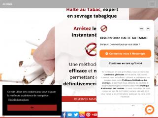 Arrêter de fumeravec Halte au tabac,  une méthode simple, efficace et naturelle !