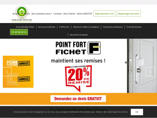 Point Fort Fichet à Paris