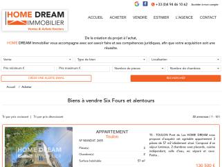 Annonces immobilières var sur Six-Fours-les-Plages, La Seyne-sur-Mer, Saint-Mandrier-sur-Mer, Bandol, Sanary-sur-Mer, Toulon, Ollioules homedreamimmobilier home dream immobilier
