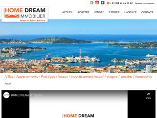 HOME DREAM Immobilier est une agence immobilière spécialisée en vente et achat sur Six-Fours-les-Plages, La Seyne-sur-Mer, Saint-Mandrier-sur-Mer, Bandol, Sanary-sur-Mer, Toulon, Ollioules