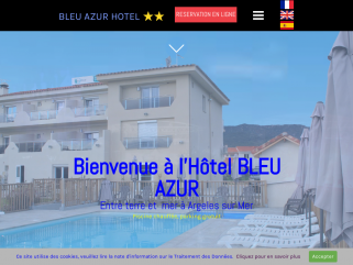 Hotel **  bleu azur, hotel argeles