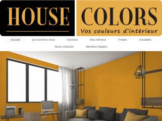 HOUSE COLORS Entreprise generale de peinture.