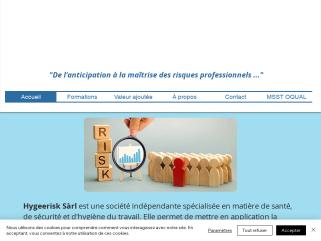 Hygeerisk - Consultant en Santé et Sécurité au travail - Hygiène du travail - MSST - Évaluation de risques