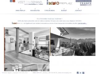 Nouveau service immobilier à Annecy avec IMMOREPLAY. Maisons et Appartements à vendre autour du Lac Annecy. 100% vidéos
