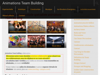 Organisateur de séminaires Team Building et Incentive