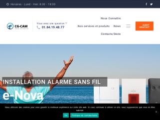 Installation vidéosurveillance Ile de France,  CGCAM  vidéosurveillance,