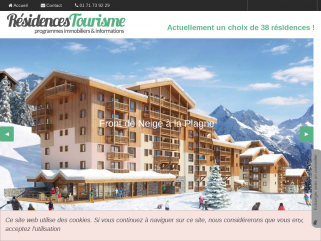 Un large choix de résidences tourisme pour investir en lmnp