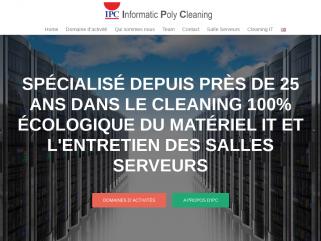 ICT Services, Hardware cleaning, nettoyage du matériel informatique Luxembourg, nettoyage et entretien de salle serveurs Luxembourg