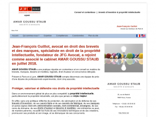 JFG Avocat - Paris - brevets d'invention - marques - PI