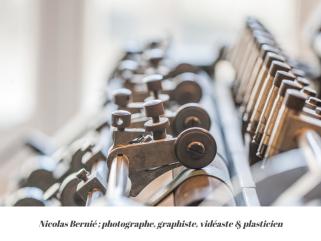Site e-commerce de Nicolas Bernié, photographe, graphiste, vidéaste & plasticien.