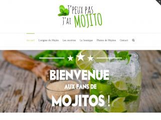 Site dédié aux fans de Mojito : recettes, tee shirts, histoire du mojito...