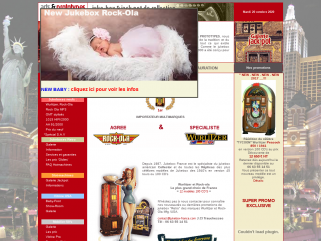 Jukebox france : Jukebox neuf 100 CD et de Collection Wurlitzer, Rock-Ola, Seeburg.Des jukeboxes authentiques