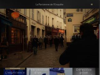 La parisienne de l'enquête
