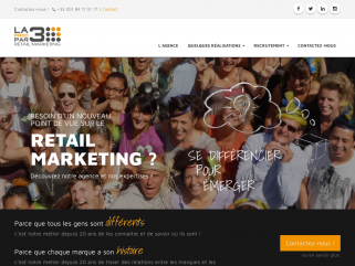 Agence LA PROD PAR 3 - retail marketing : animations instore et outstore