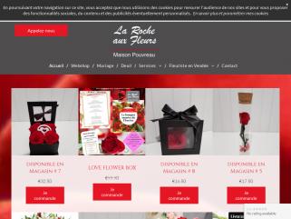 Votre artisan Fleuriste la Roche aux Fleurs membre Agrée INTERFLORA Maison Pouvreau situé à Montaigu-Vendée. une équipe à votre service 7j/7 pour toutes vos occasions d'offrir des Fleurs.