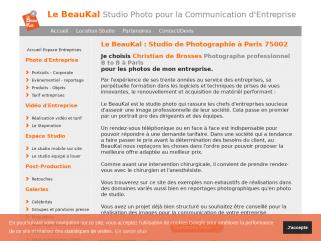 Le BeauKal Studio Photo pour la Communication d'Entreprise