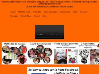 Eveil musical, cours de musique à Paris du Tout Petit Conservatoire