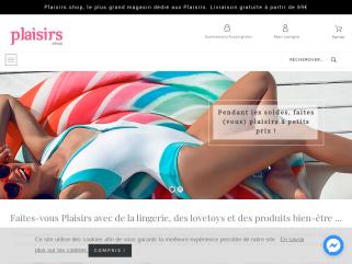 Tendance plaisirs, boutique en ligne de lingerie coquine, costume sexy, gadget