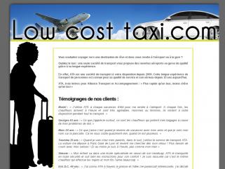 Low-cost-taxi.com vous aide à trouver un taxi low cost à Paris et sa région pour vous rendre à l'aéroport de Roissy Charles de Gaulle, à Orly, Beauvais et les grandes gares SNCF TGV