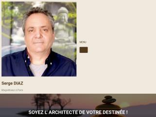 Serge DIAZ Magnétiseur Paris Hypnose Soins distance Energéticien